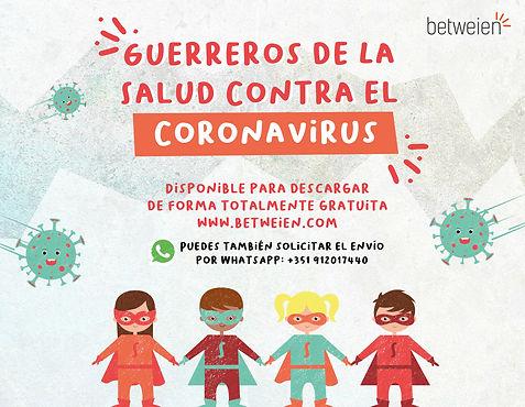 Guerreros de la salud contra el coronavi
