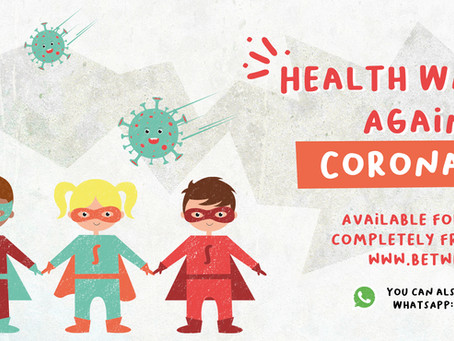 A children's ebook about Coronavirus, developed in less than 48 hours!
