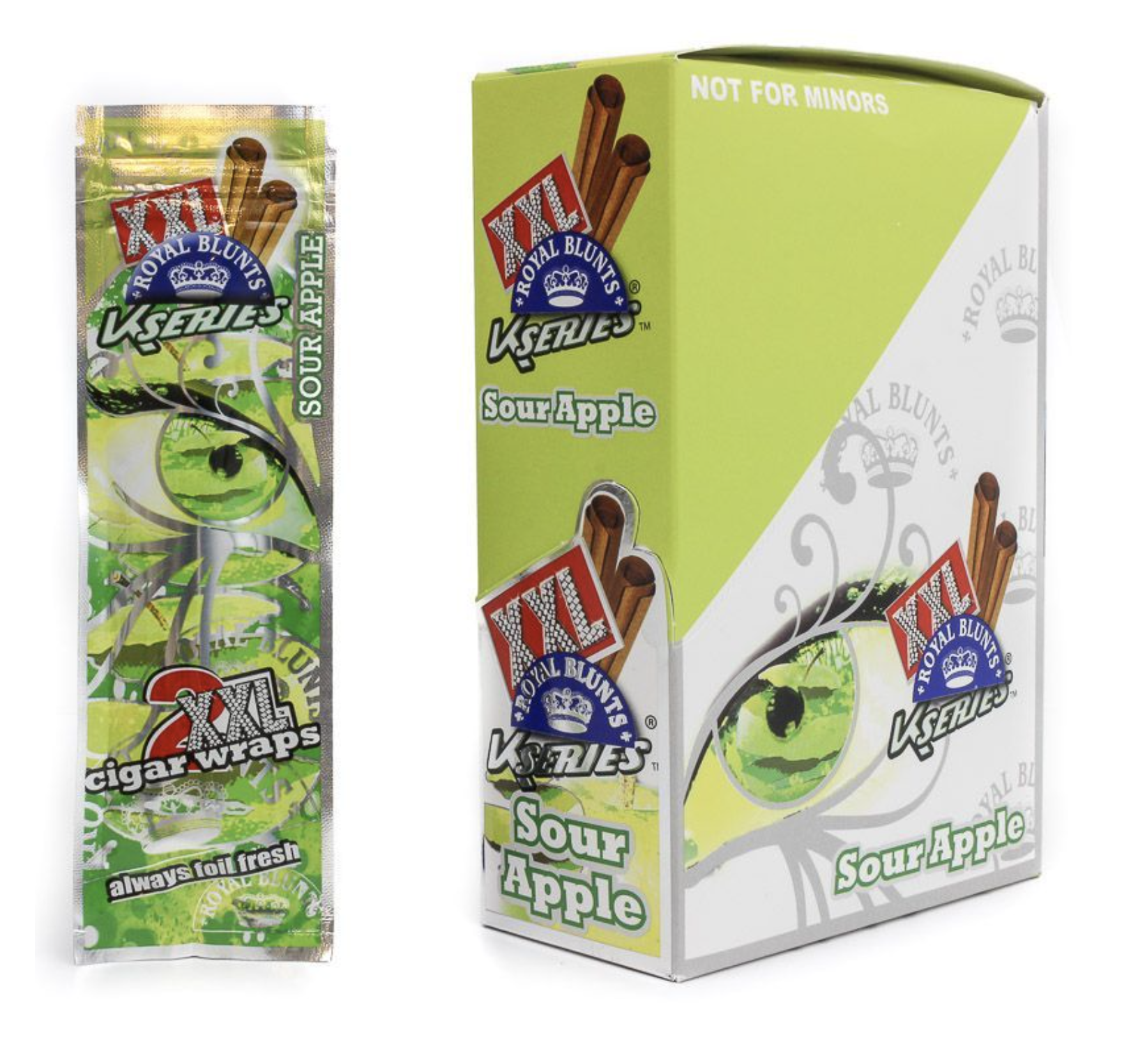 ROYAL BLUNTS XXL SOUR APPLE