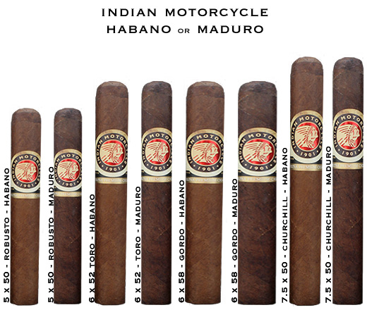Indian Motorcycle Habano or Maduro
