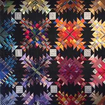 Kaleidoscope Pineaplle by Julia McLeod