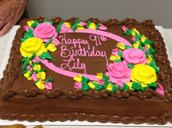 Lily is 91!