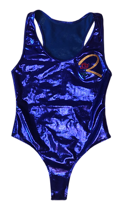 Metallic Crenshaw R1 Bodysuit