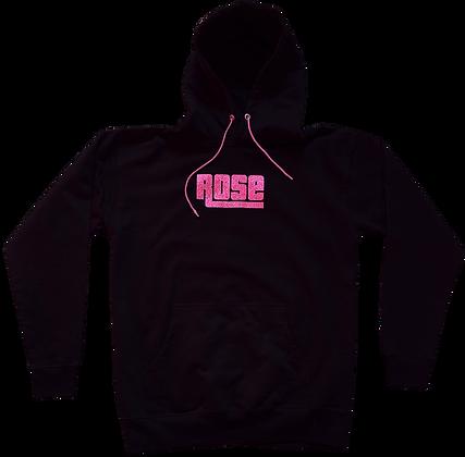 Pink Rose Army Bust Down Hoodie