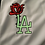 Thumbnail: White LA Rose Glow Baseball Jerseys