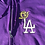 Thumbnail: Champ Purple LA ROSE Zipper Hoodie