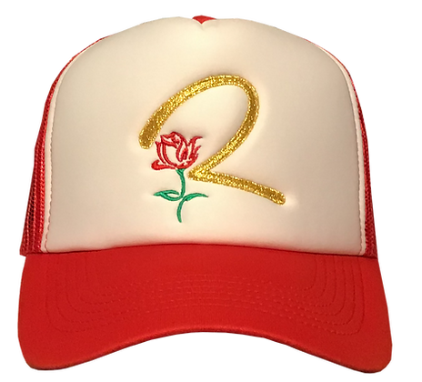 MuthaTruckin Red R1 Hat