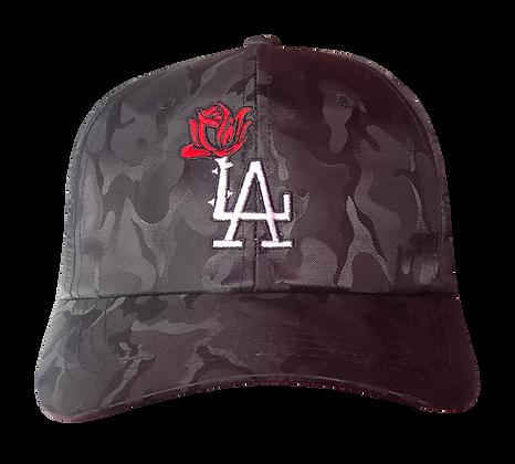 Blk Flame LA Rose Player Caps