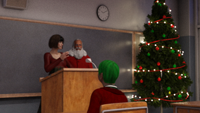 I Visit Mrs Claus in her Class