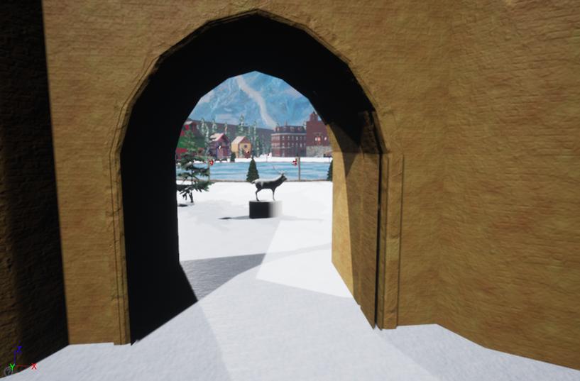 North Pole Gate