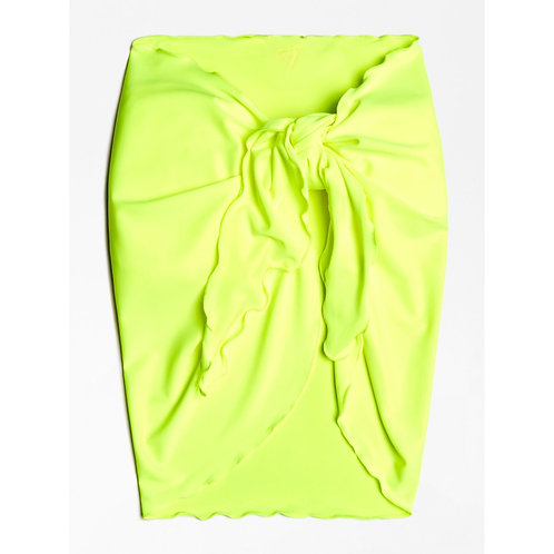 E02H03MC009 FLYL - Pareo GUESS - Giallo Fluo