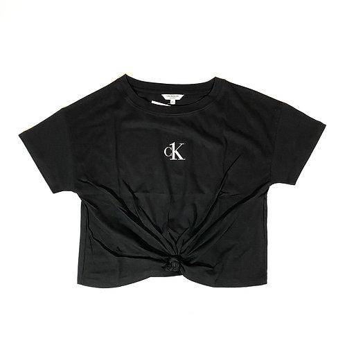 CK Tshirt Nodo - Nero