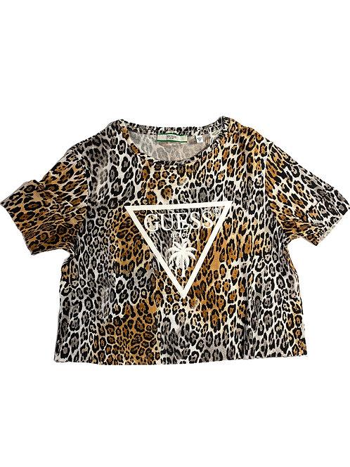 T-Shirt Crop - Guess - Leo