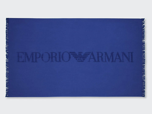 211771 0P448 04433 - Telo Spugna ARMANI - Bluette