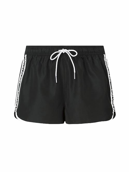 CK Shorts Logo Bands - Nero