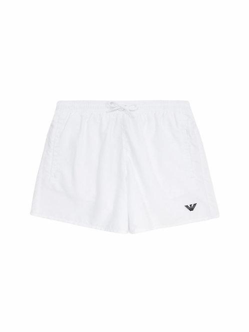 Armani Costume Boxer Medio Aquiletta - Bianco