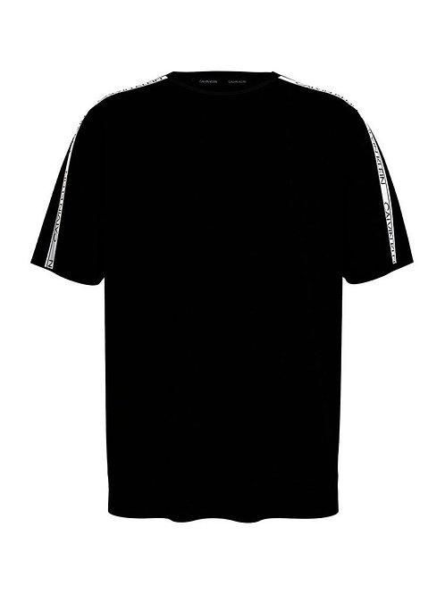 CK - Tshirt LogoBand - Nero