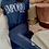 Thumbnail: Armani T-Shirt Iconic Logo Lover - Blu\Bianco