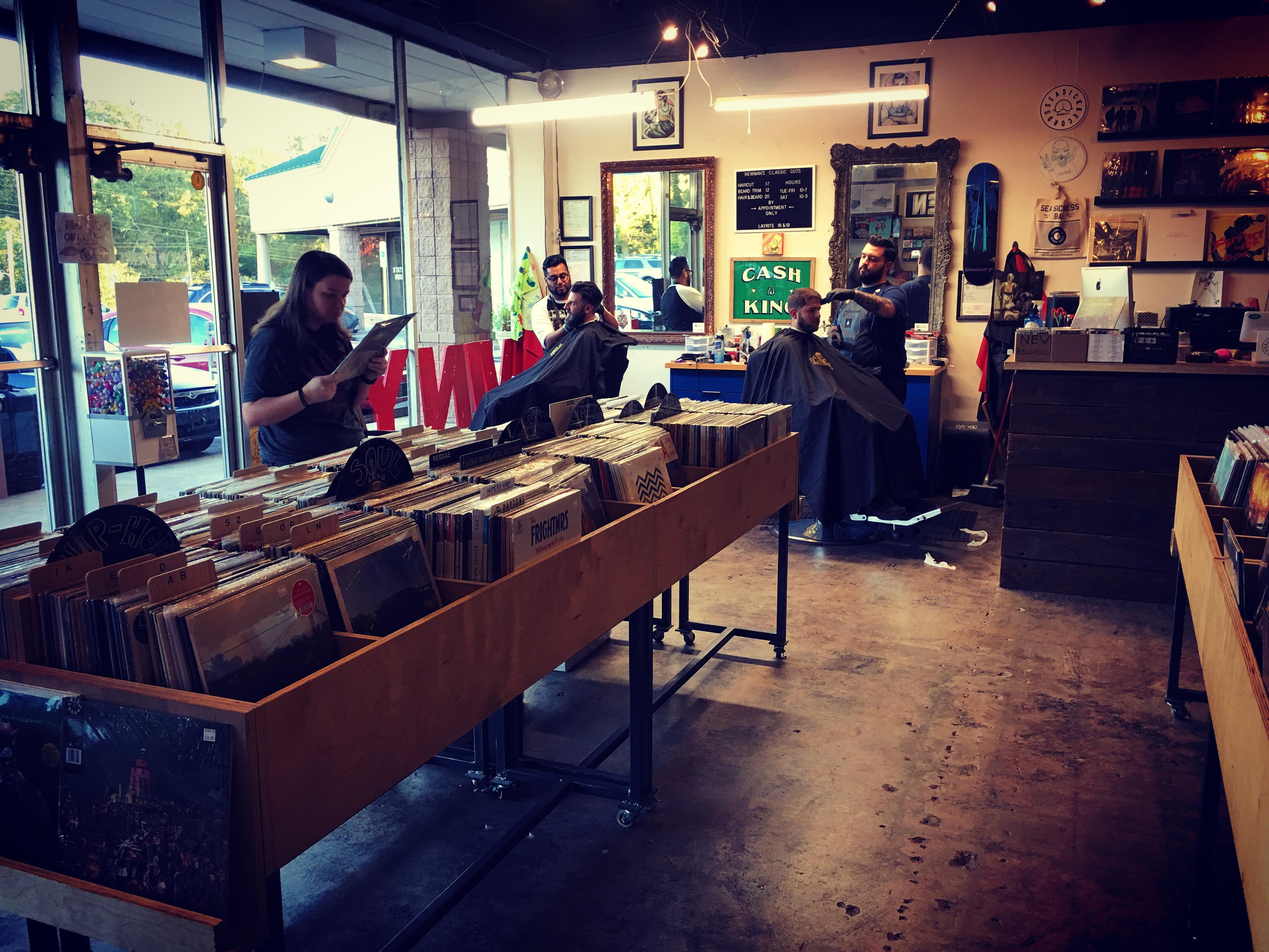 Vinyl & A Cut
