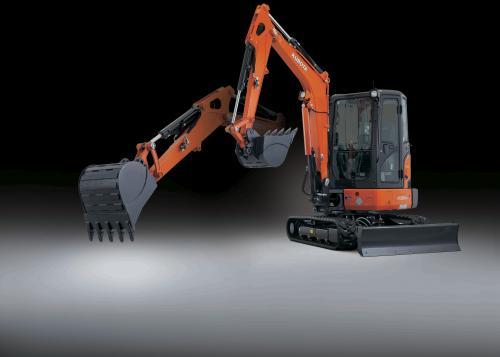 Kubota_KX033-4 excavator