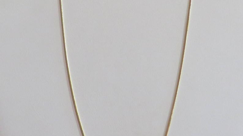 18k Gold Filled Necklaces For Women Minimalist Dainty Simple Chain