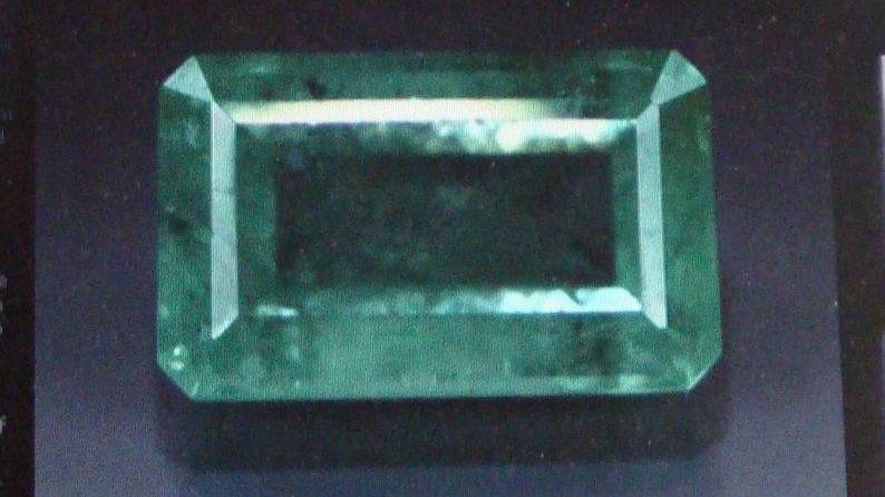 6.37 Carat Natural Loose Columbian Emerald Gemstone Stone For Sale Real Price