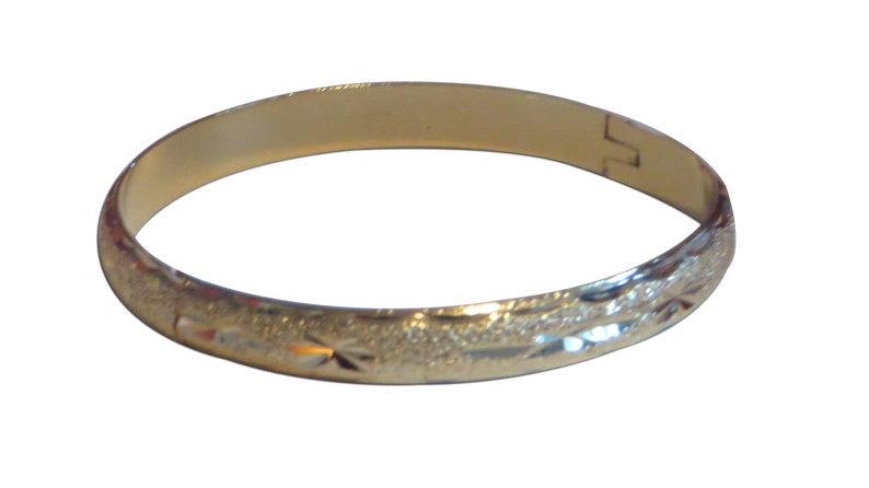 18k Gold Filled Bangles Bracelet Stacking