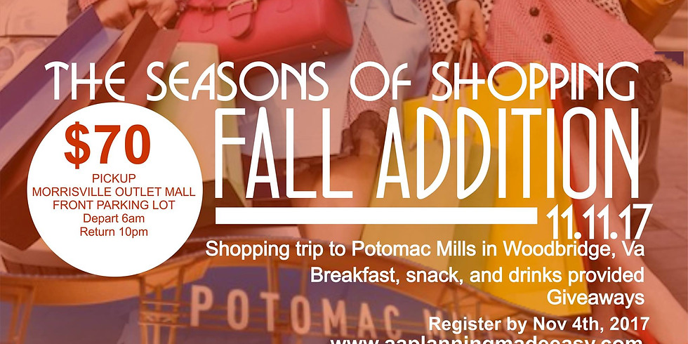 The Seasons of Shopping (Fall Edition)