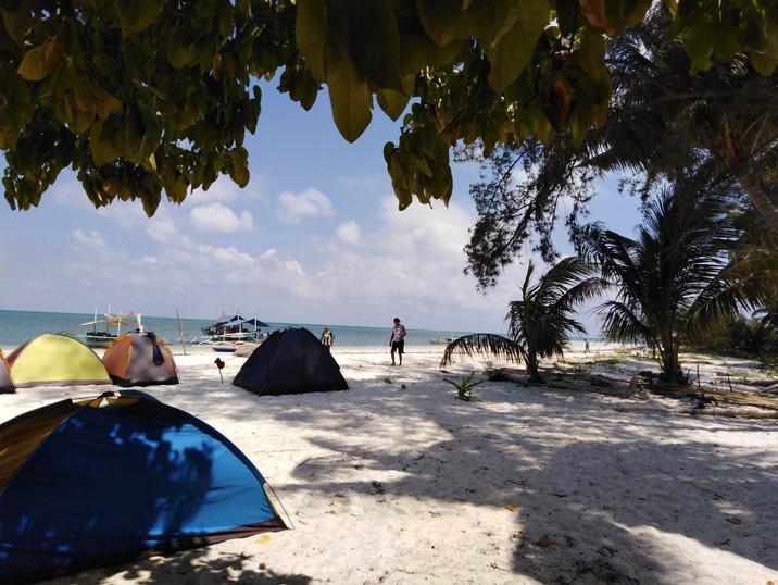 Balabac Island Tenting