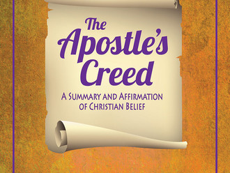 Apostle's Creed picture book is ready
