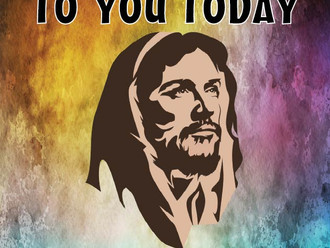 JESUS SPEAKS TO YOU TODAY          New picture booklet