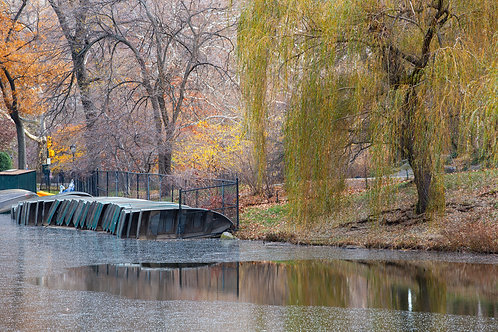 Boats at Central Park #1