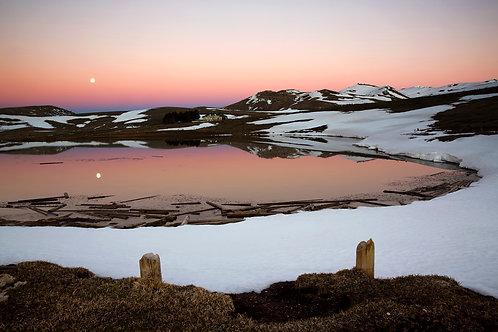 La luna nel lago