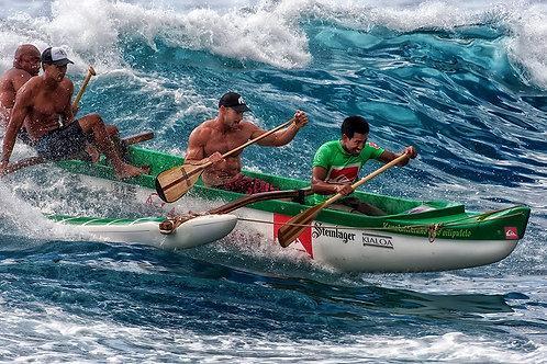 Canoe Action