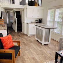 Tiny house living space