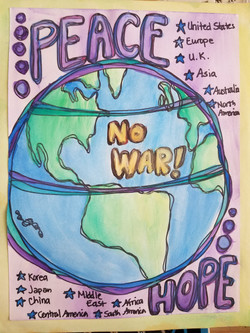 peace and hope for world