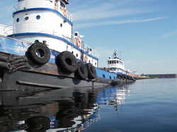 Tugs at Keefer Terminal