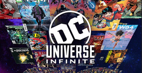 DC UNIVERSE TRANSFORMS INTO DC UNIVERSE INFINITE, THE ULTIMATE COMICBOOK SUBSCRIPTION SERVICE
