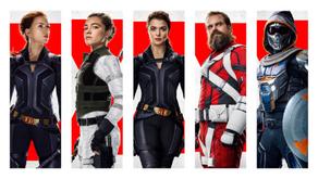Black Widow: vistazo íntimo a los personajes de la película