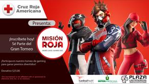 Cruz Roja Americana lanza torneo de videojuego Misión Roja