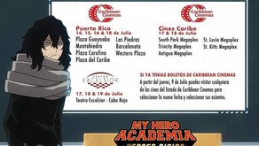 """NUEVAS FECHAS PARA """"MY HERO ACADEMIA: HEROES RISING"""""""