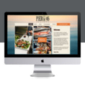 Paso Robles branding agency Pier 46 Seafood, Landon Collective website design