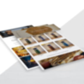 website design paso robles brens original blends landon collective