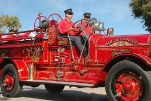 Antique Fire Engine