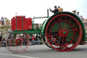 Gas Traction Company Tractor