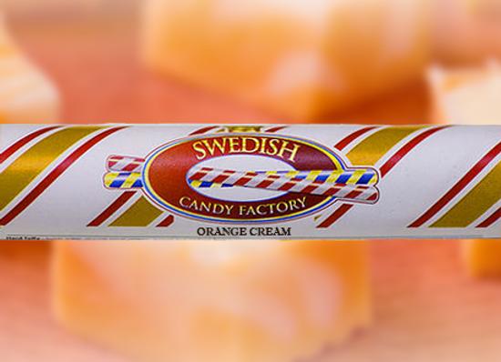 Orange Cream Polkagris