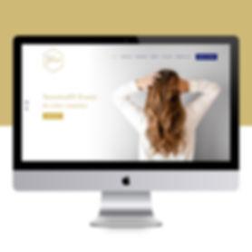 Web design salon gloss paso robles branding landon collective