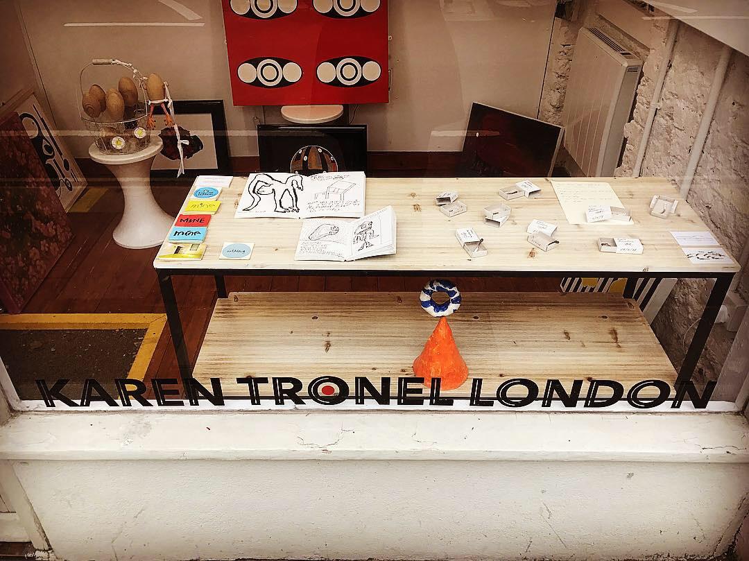 Karen Tronel London - Autumn 2018