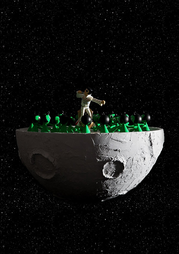 Man on the Moon - karen Tronel and Julie