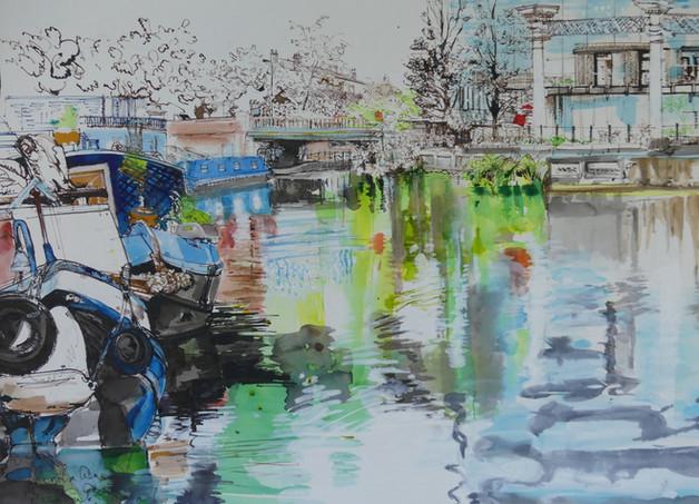 Regents Canal Kings Cross